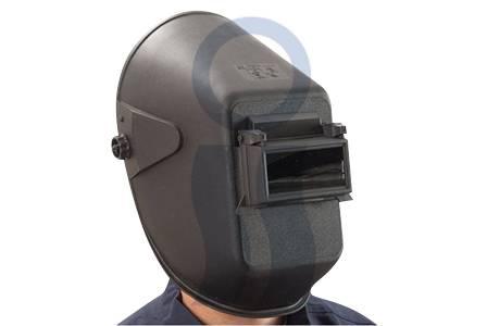 Careta soldador visor movil s/vidrio