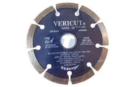 Disco diamantado laser Vericut