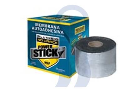 Membrana autoadhesiva Megaflex Con Aluminio x5 mts