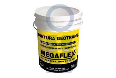 Pintura megaflex membrana Geotrans