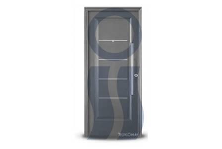 Puerta exterior 1709 grafito 80 cm