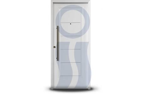 Puerta exterior 1709 blanca 80 cm