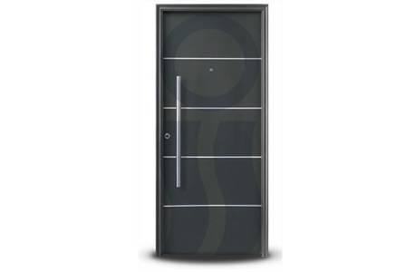 Puerta exterior 1783 grafito 80 cm