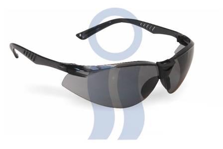 Anteojos antirraya black-gris-transparente