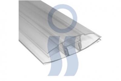 Perfil H para placa de policarbonato x 5,80 mts