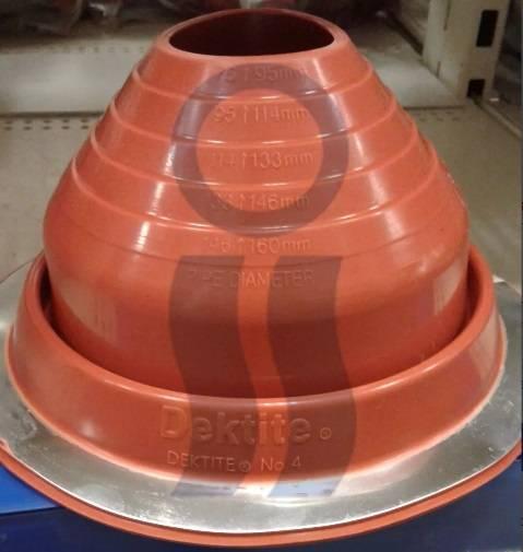 Pasatecho dektite silicon alta temperatura 73-160 mm