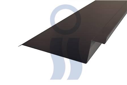 Babeta sobre chapa c25 negra x 2,44 mts.