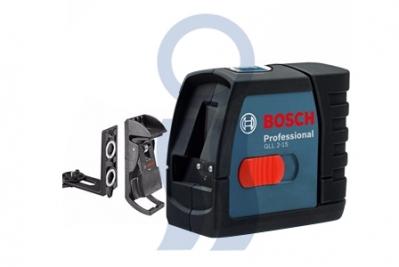 Bosch nivel láser 15 mts GLL2-15 + soporte bm3