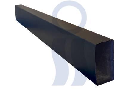Caño negro 1,00 mts  2 x 4 pulgadas