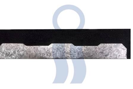 Moldura poliuretanica tapa onda para chapa u-45