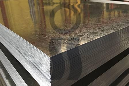 Chapa lisa galvanizada c25 1.22 x 2,44 mts