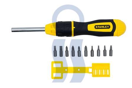 Stanley set destornillador crique +10 piezas