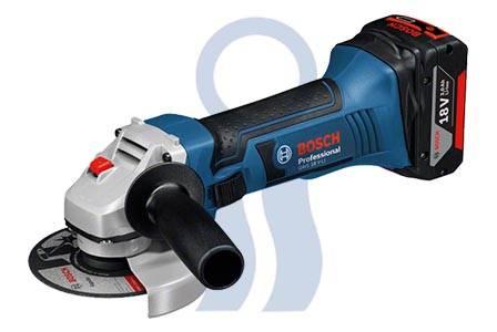 Bosch amoladora gws 18v-li c/2 baterias