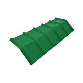 Cumbrera trapezoidal verde x 1,10 mts oferta