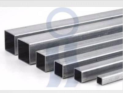 Tubo estructural rectangular galvanizado de 2da