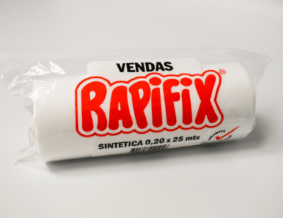 Manta elastica no tejida Rapifix 0.20 x 25 mts