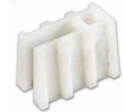 Soporte plastico trapezoidal x 50 u